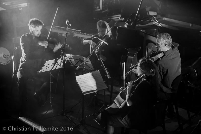 Promotion 2015 : Le quatuor, remise de diplôme de l'IMEP mars 2016