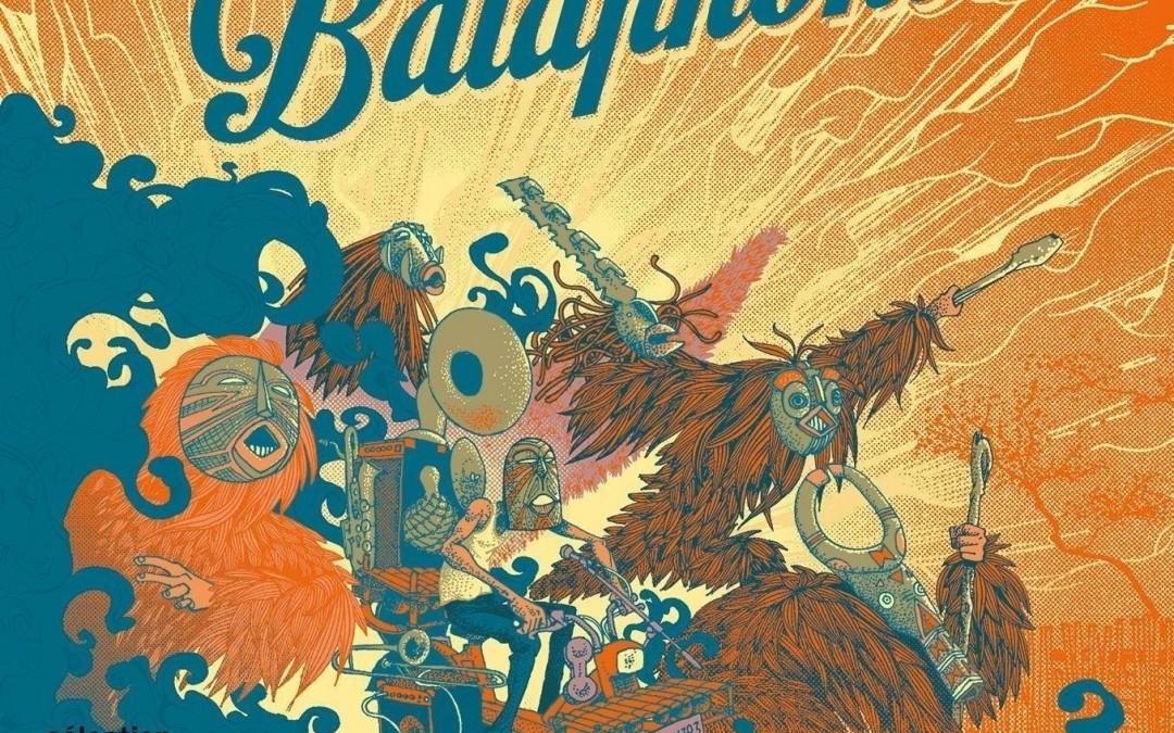 Nouvel album du groupe Balaphonics