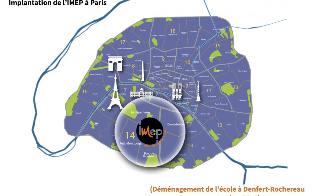 2016 : IMEP • Paris College of Music is moving!