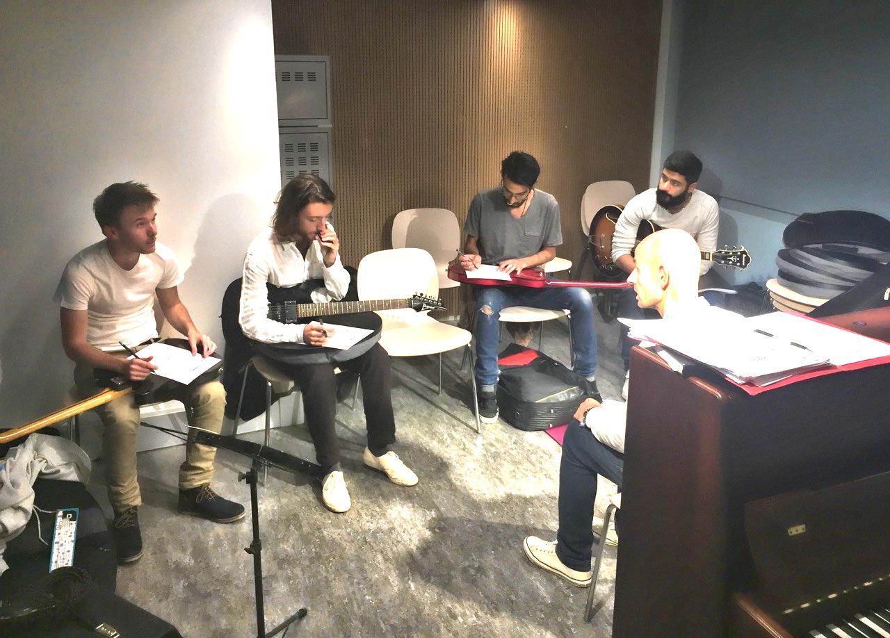 Cours de guitare au studio G