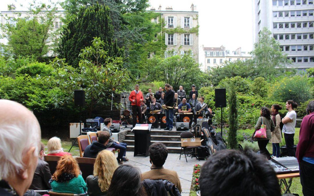 Big Band à l'hotel Méridien de Paris
