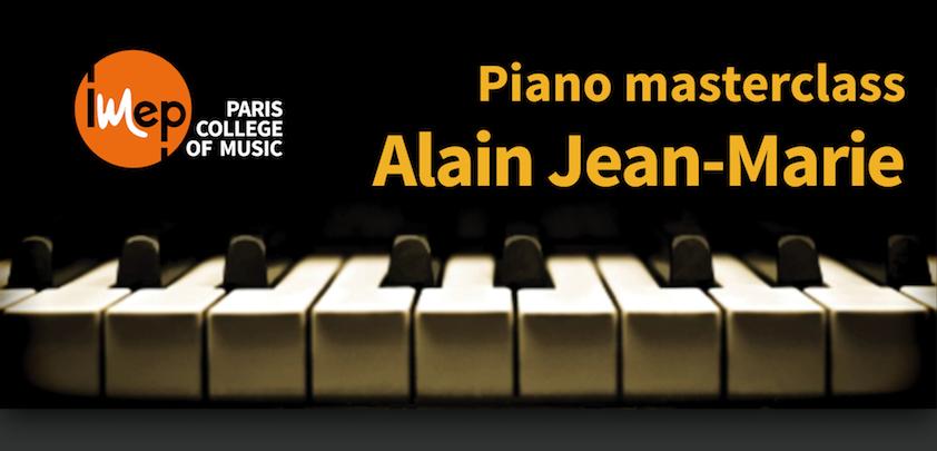masterclasse Alain Jean-Marie