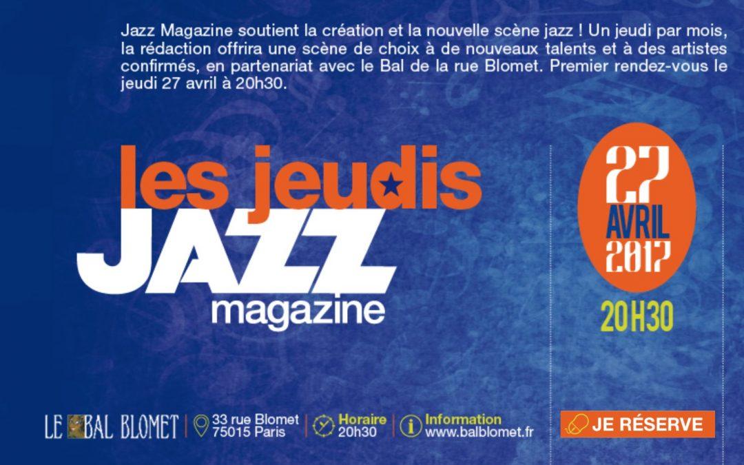 Soirée Jazz Magazine au Bal Blomet
