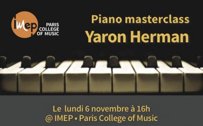 Piano masterclasse Yaron Herman