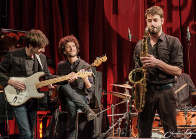 Cyprien Allard, Thiago Reiss, Antoine Lebouc