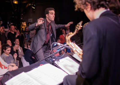 Mael Courageux, Big Band IMEP Paris College of Music
