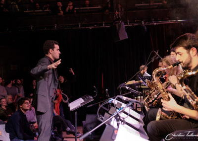 Mael Courageux, direction Big Band IMEP Paris College of Music