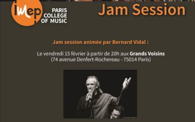 Jam session animée par Bernard Vidal