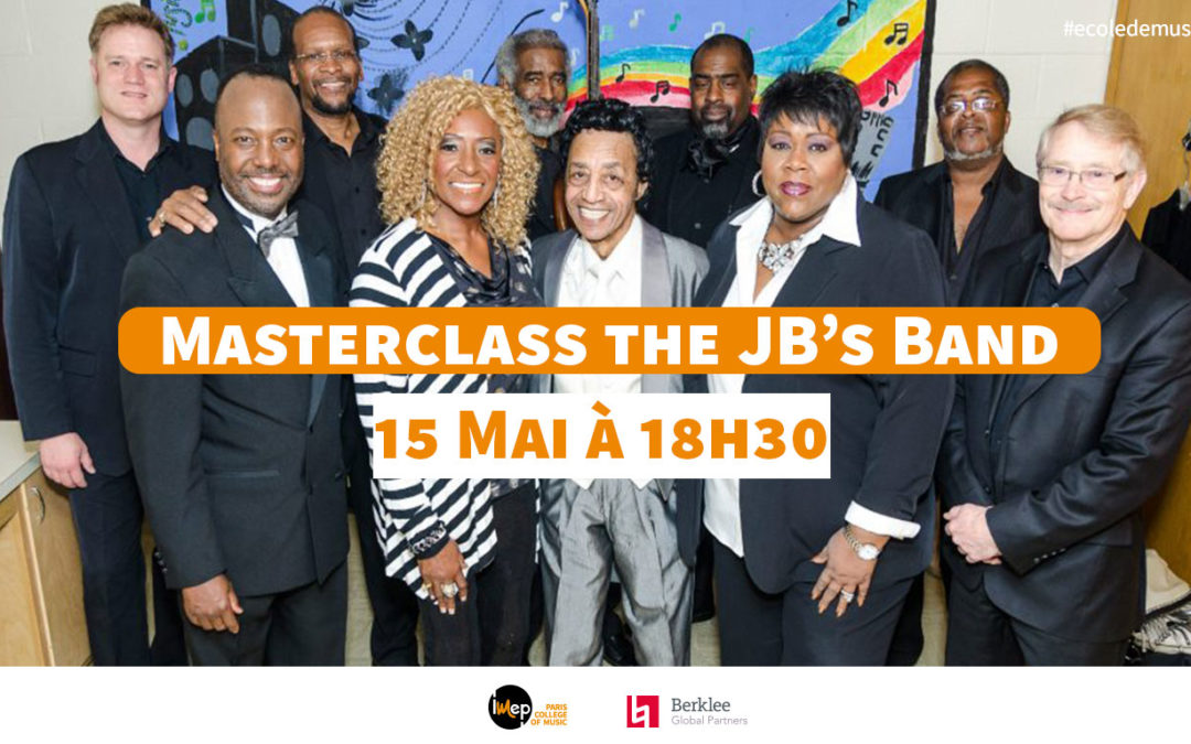 Masterclass The JB's Band 15 mai 2019