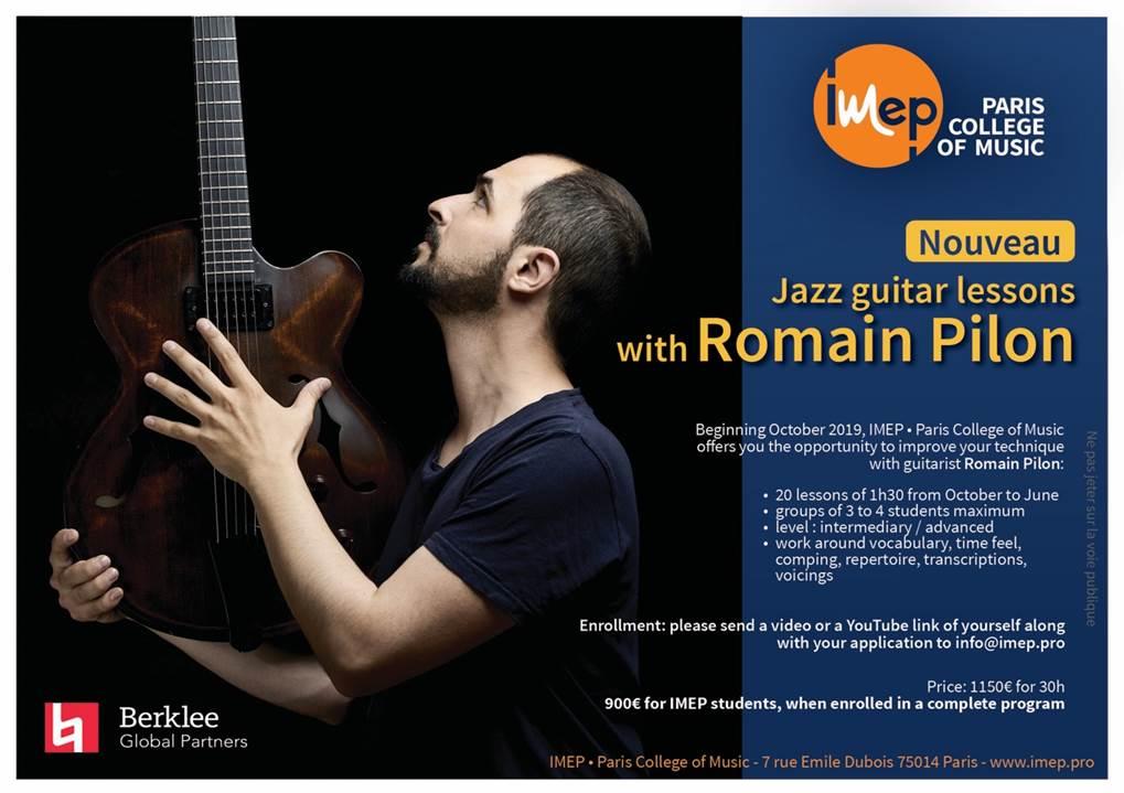 jazz-guitar-Romain-Pilon-paris