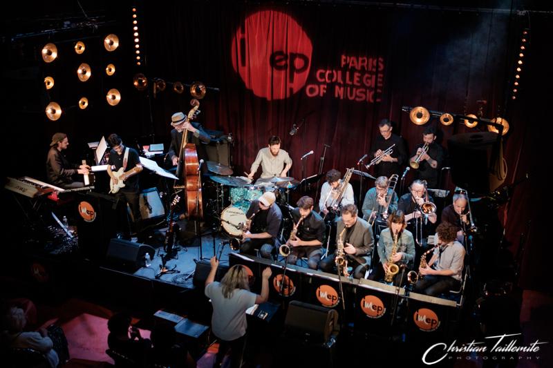 Le big band de l'IMEP au Studio de l'Ermitage