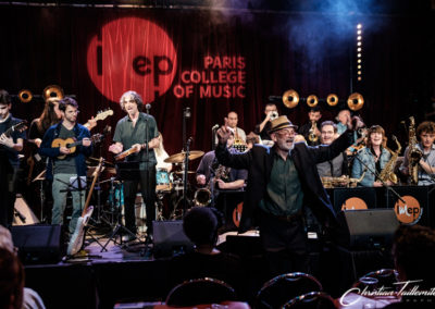 Imep Big Band au Studio de l'Ermitage