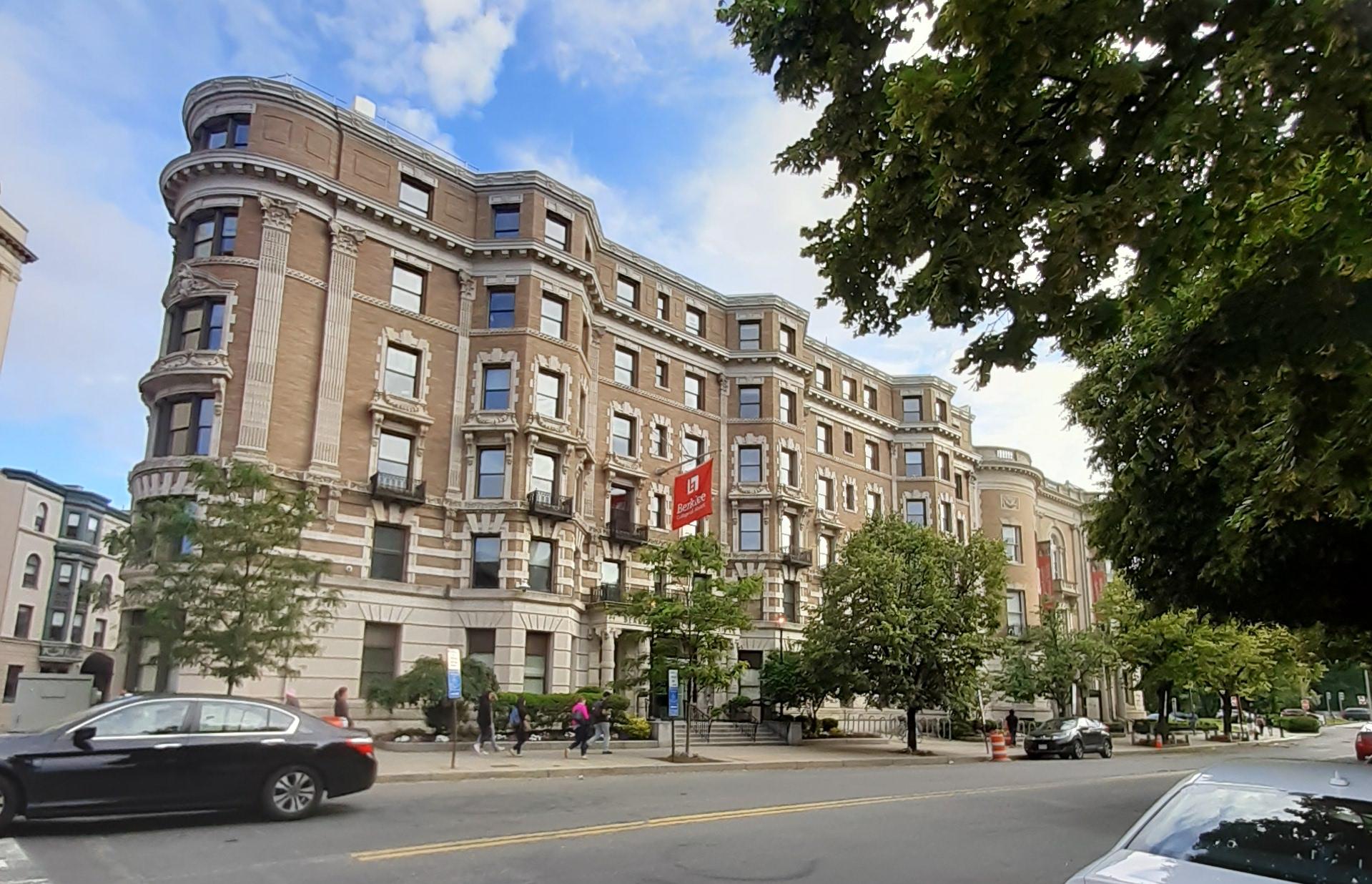 Un des bâtiments de Berklee College of Music à Boston