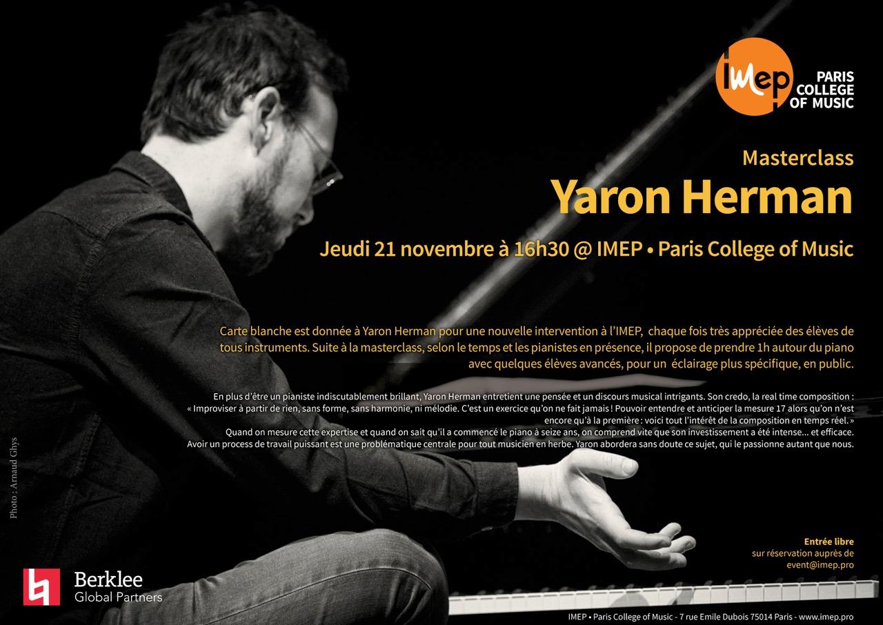 Yaron Herman Masterclass
