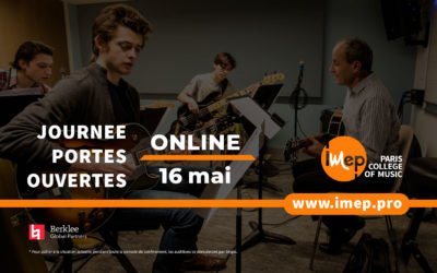 Journée Portes Ouvertes Online 16 Mai 2020