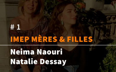 Natalie Dessay et sa fille Neïma Naouri