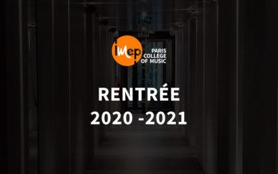 2020 : L'IMEP prépare sa rentrée de septembre