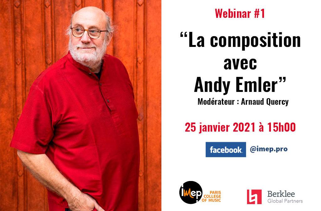 Replay : La composition avec Andy Emler