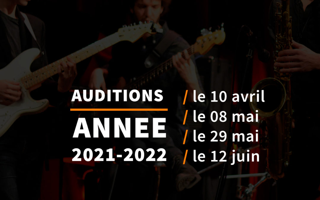 Auditions 2021-2022