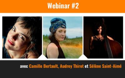 Webinar 2 : Les femmes dans le paysage du jazz français
