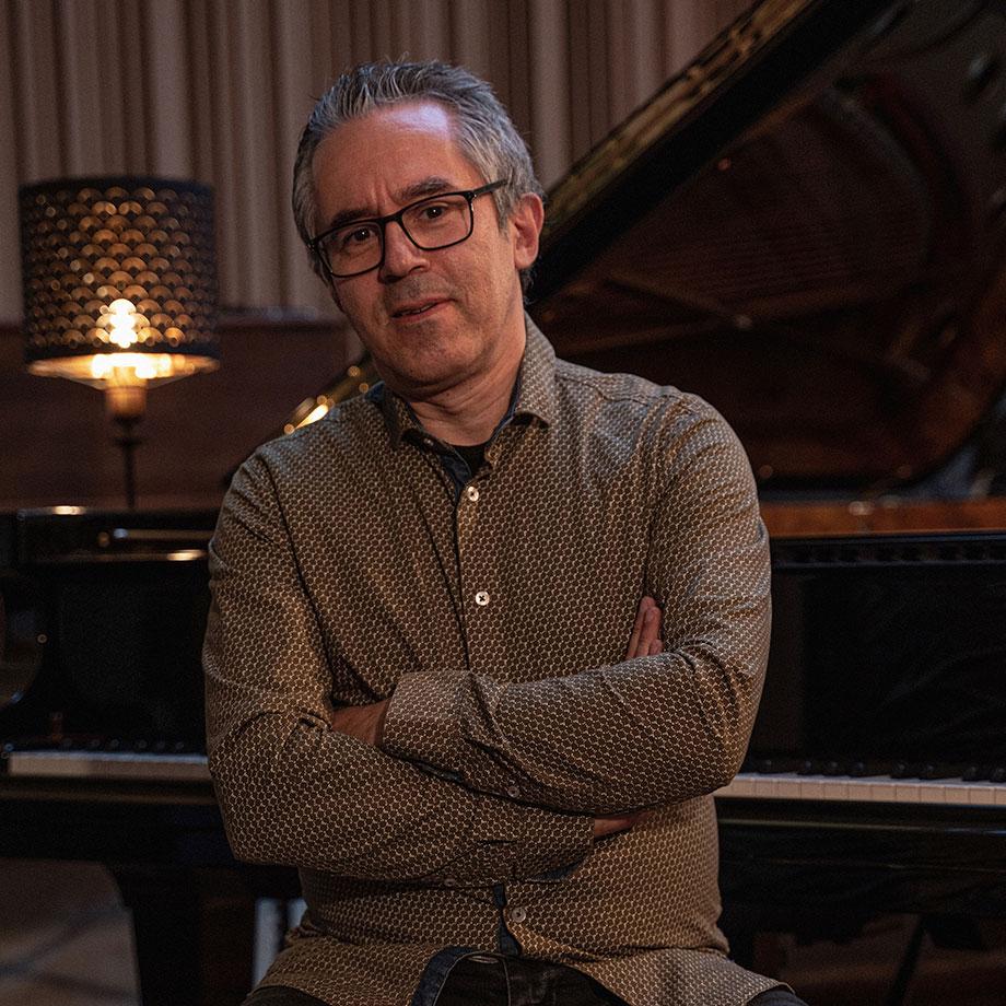 Manuel Rocheman, professeur de piano
