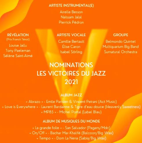 Sélène Saint-Aimé nominée aux Victoires du Jazz 2021