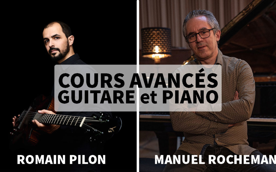Cours avancés Guitare et Piano