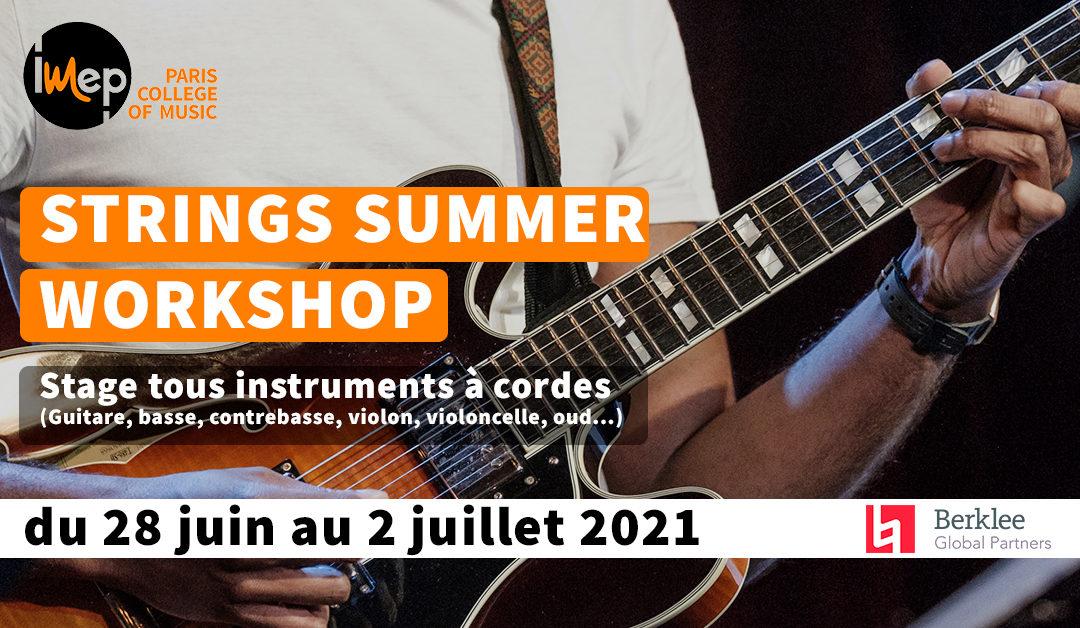 Stage String Summer 2021