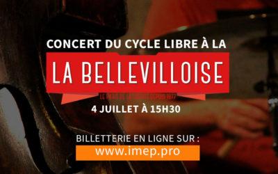 Concert du Cycle Libre à la Bellevilloise