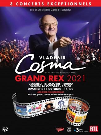 Les Voice Messengers chantent Vladimir Cosma au Grand Rex