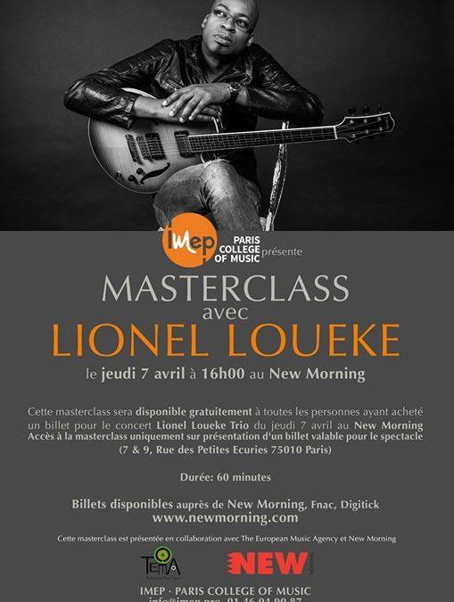 MASTERCLASS du Lionel Loueke